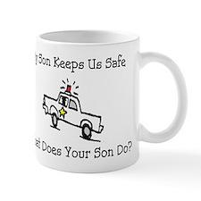 My Son Keeps Us Safe Mug