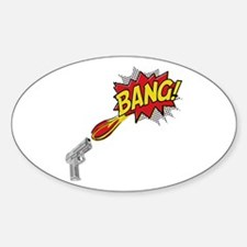 Bang! Gun Shot Decal