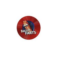 Bacon Farts Mini Button Mini Button