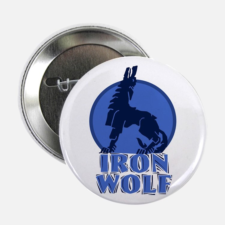 "iron wolf 2.25"" Button (10 pack)"