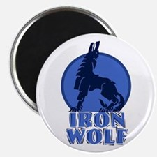 """iron wolf 2.25"""" Magnet (10 pack)"""