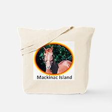 Island Horses Tote Bag