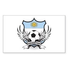 Argentina world cup soccer Rectangle Decal