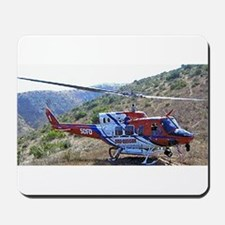 San Diego Fire Fighting Helicopter Mousepad