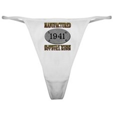 Manufactured 1941 Classic Thong
