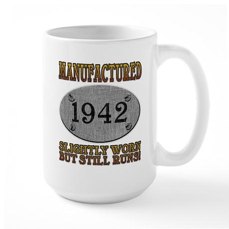 Manufactured 1942 Large Mug