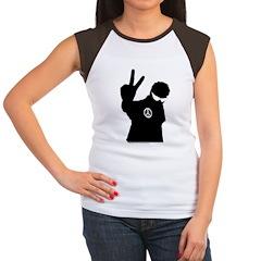 Peace Man Gift Gear Women's Cap Sleeve T-Shirt