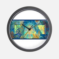 Mayahuel Mural Wall Clock