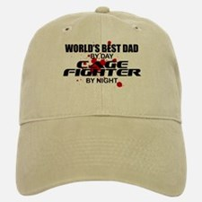 World's Best Dad - Cage Fighter Cap