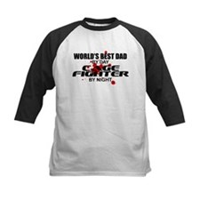 World's Best Dad - Cage Fighter Tee