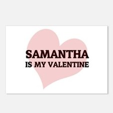 Samantha Is My Valentine Postcards (Package of 8)