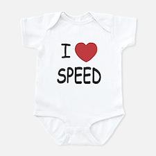 I love speed Infant Bodysuit