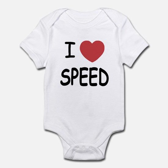 I love speed Infant Bodysuit