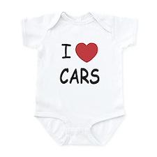 I love cars Infant Bodysuit