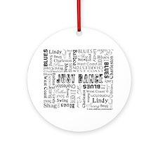 Just Dance Ornament (Round)