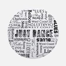 Just Dance Ornament (Round)