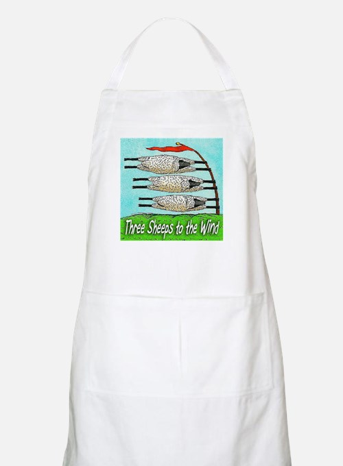 Three Sheeps to the Wind Apron