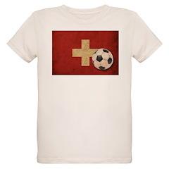 Vintage Switzerland Football T-Shirt
