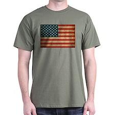 Vintage America Flag T-Shirt