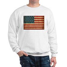 Vintage America Flag Sweatshirt