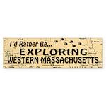 Exploring Western Massachusetts Bumper Sticker