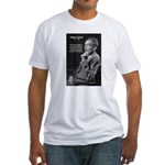 Old Age Spirit of Childhood Fitted T-Shirt