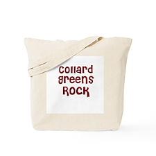 Collard Greens Rock Tote Bag