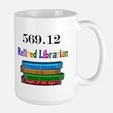 Retired Occupations Large Mug