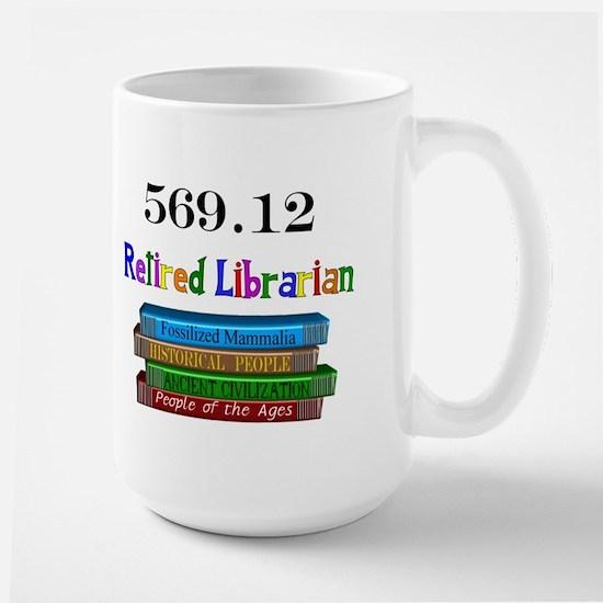 Retired Occupations Large Mug