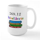 Librarian Large Mugs (15 oz)
