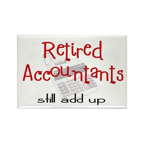 Retired Occupations Rectangle Magnet (100 pack)