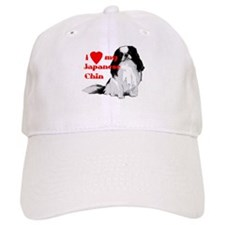 Japanese Chin valentine Baseball Cap