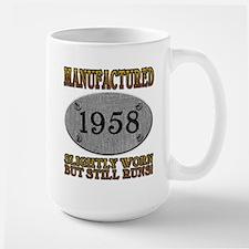 Manufactured 1958 Large Mug