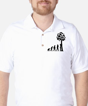 Tree Hugger Golf Shirt