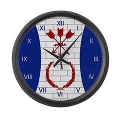 Plattefordham Device Large Wall Clock