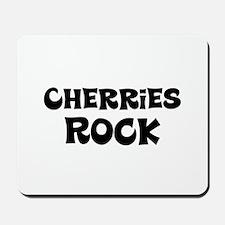 Cherries Rock Mousepad