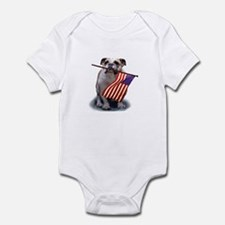 July 4th Independence Day Infant Bodysuit
