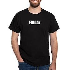 FRIDAY Black T-Shirt