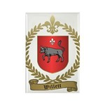 WILLETT Family Crest Rectangle Magnet (100 pack)