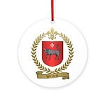 WILLETT Family Crest Ornament (Round)
