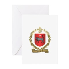 WILLETT Family Crest Greeting Cards (Pk of 20)