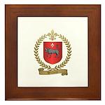 WILLETT Family Crest Framed Tile