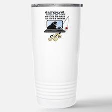 Gone Phishin' Stainless Steel Travel Mug