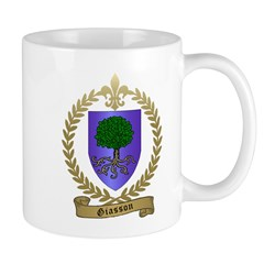 GIASSON Family Crest Mug