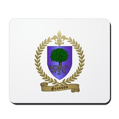 GIASSON Family Crest Mousepad