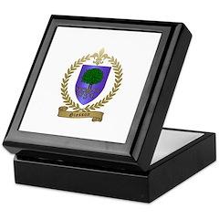 GIASSON Family Crest Keepsake Box