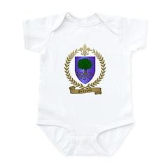 GIASSON Family Crest Infant Bodysuit