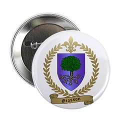 "GIASSON Family Crest 2.25"" Button (10 pack)"