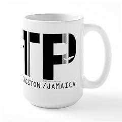Kingston Airport Code Jamaica KTP Mug