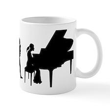 Pianist Small Mug